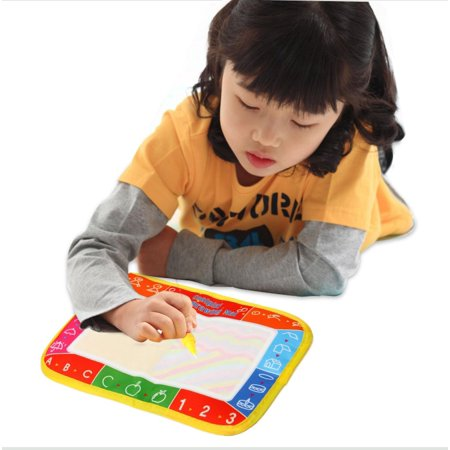 Funny Magic Doodle Water Drawing Painting Writing Board Pen Children Kids Toy
