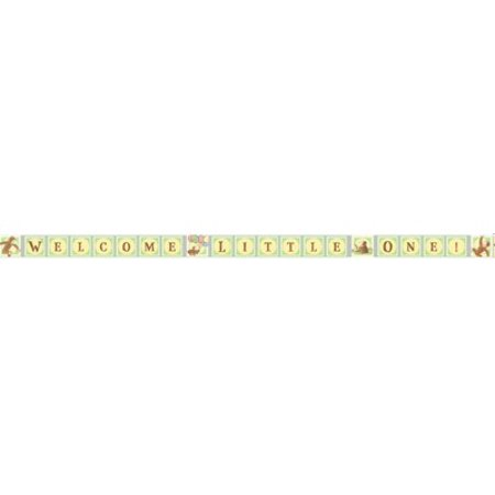 Curious George Baby Shower Celebration Banner (1ct) Curious George Banner