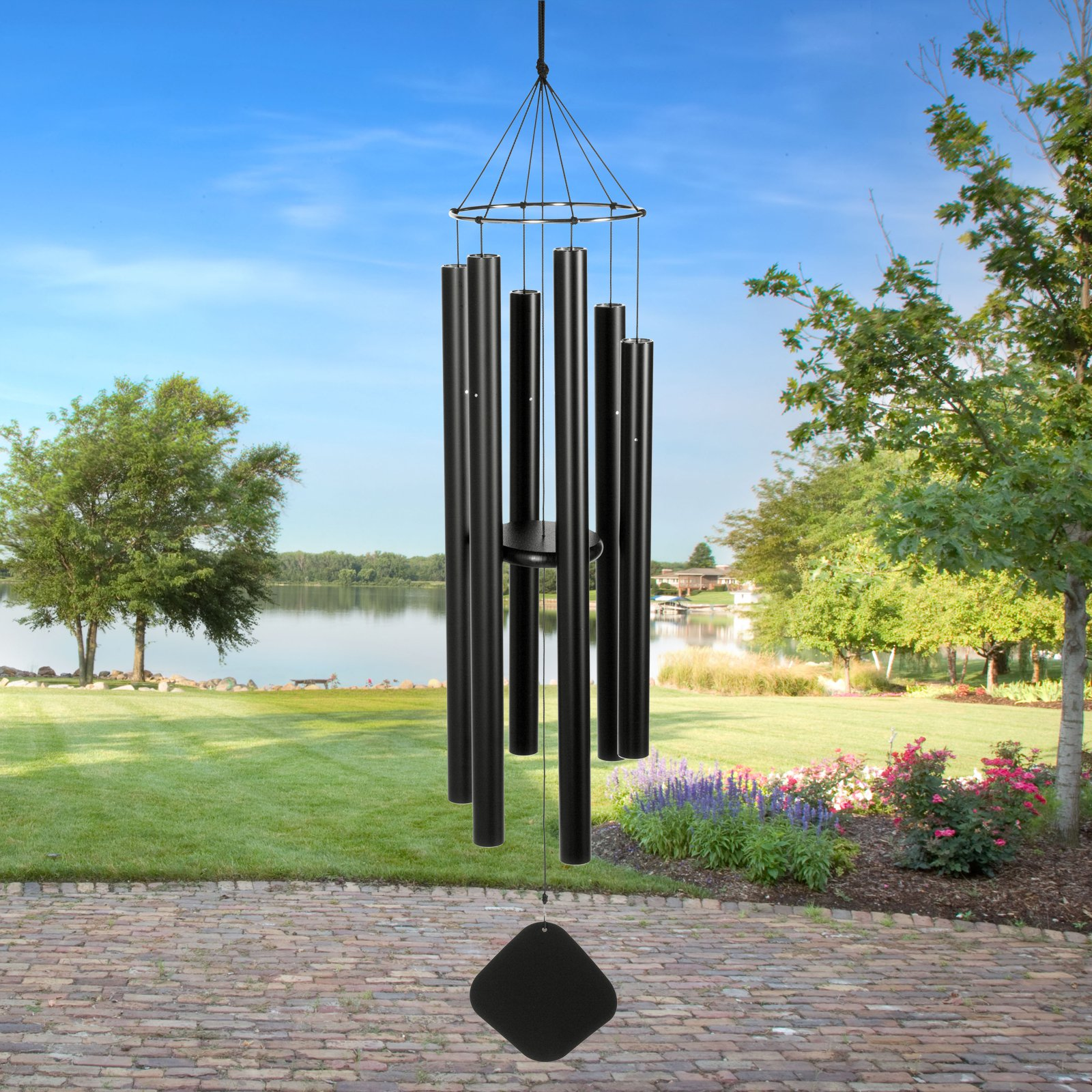 Music of the Spheres Pentatonic Alto 50 Inch Wind Chime by Music of the Spheres Inc
