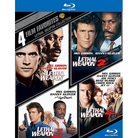 Lethal Weapon 1-4 (Blu-ray)