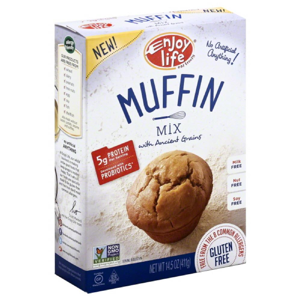 Enjoy Life, Baking Mixes, Mix Muffin Gf, 14.5 Oz (Pack Of 6) by Enjoy Life Natural Brands