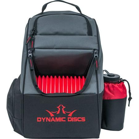 Trooper Backpack Disc Golf Bag Black/Red (Best Disc Golf Backpack)