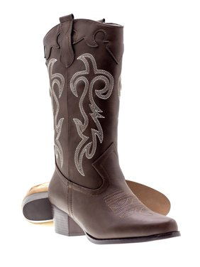 6ff29277e Product Image Canyon Trails Women s Classic Pointed Toe Embroidered Western  Rodeo Cowboy Boots