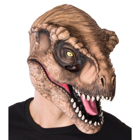 Jurassic World: T-Rex Adult 3/4 Mask, One Size Halloween Accessory - Halloween 4 Mask Buy
