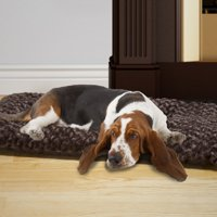 Petmaker Dog Bed, Jumbo Cushion Pillow Pet Bed - ChocolatePet Dog Bed, X-Large, Chocolate