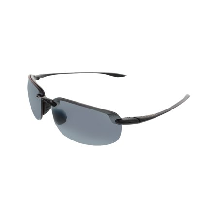 7eea6ecd526 Maui Jim - Maui Jim Men s Ho Okipa 407-02 Black Semi-Rimless Sunglasses -  Walmart.com