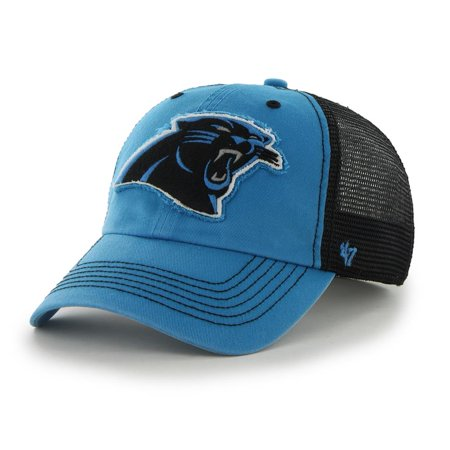 Men's '47 Brand Carolina Panthers Relaxed Fitted Hat - 47 Brand Blank Hats