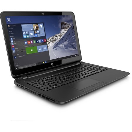 Hp Black Licorice 15 6  15 F387wm Laptop Pc With Amd A8 7410 Processor  4Gb Memory  Touch Screen  500Gb Hard Drive And Windows 10 Home