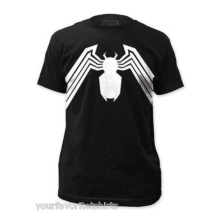 Best Spiderman Suits (Venom Suit Symbol Costume Spider-man Marvel Comics Adult T)