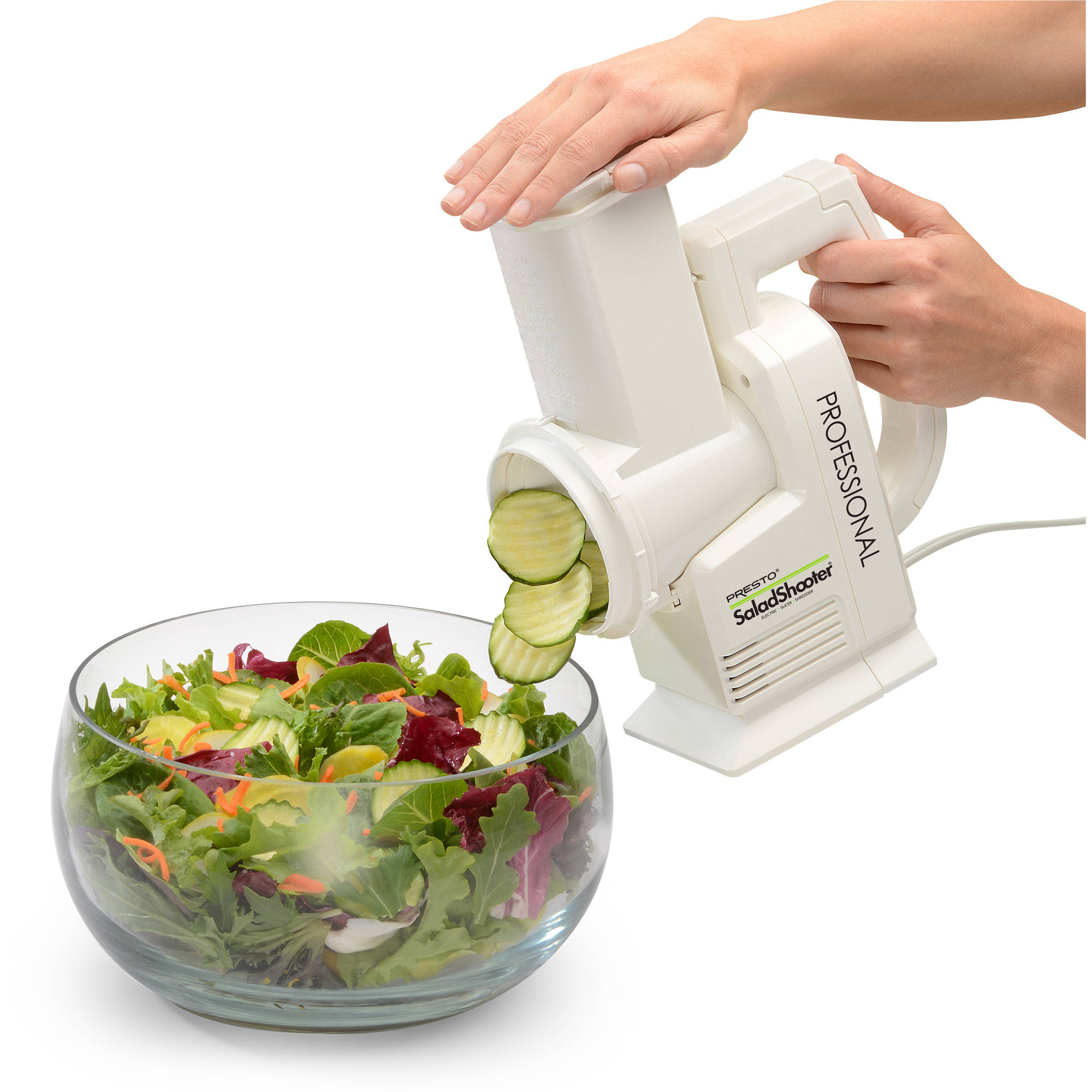 Presto Professional SaladShooter Electric Slicer/Shredder