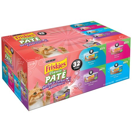 Purina Friskies Classic Pate Surfin' & Turfin' Favorites Cat