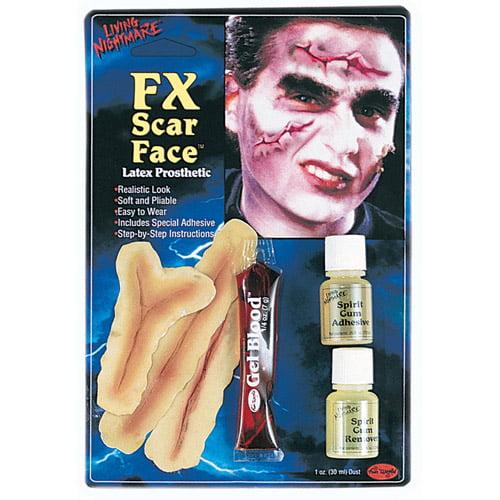 Scar Face FX Kit Halloween Accessory