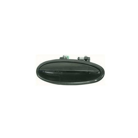 Replacement Outer Rear Right Black Door Handle For Aurora LeSabre Bonneville