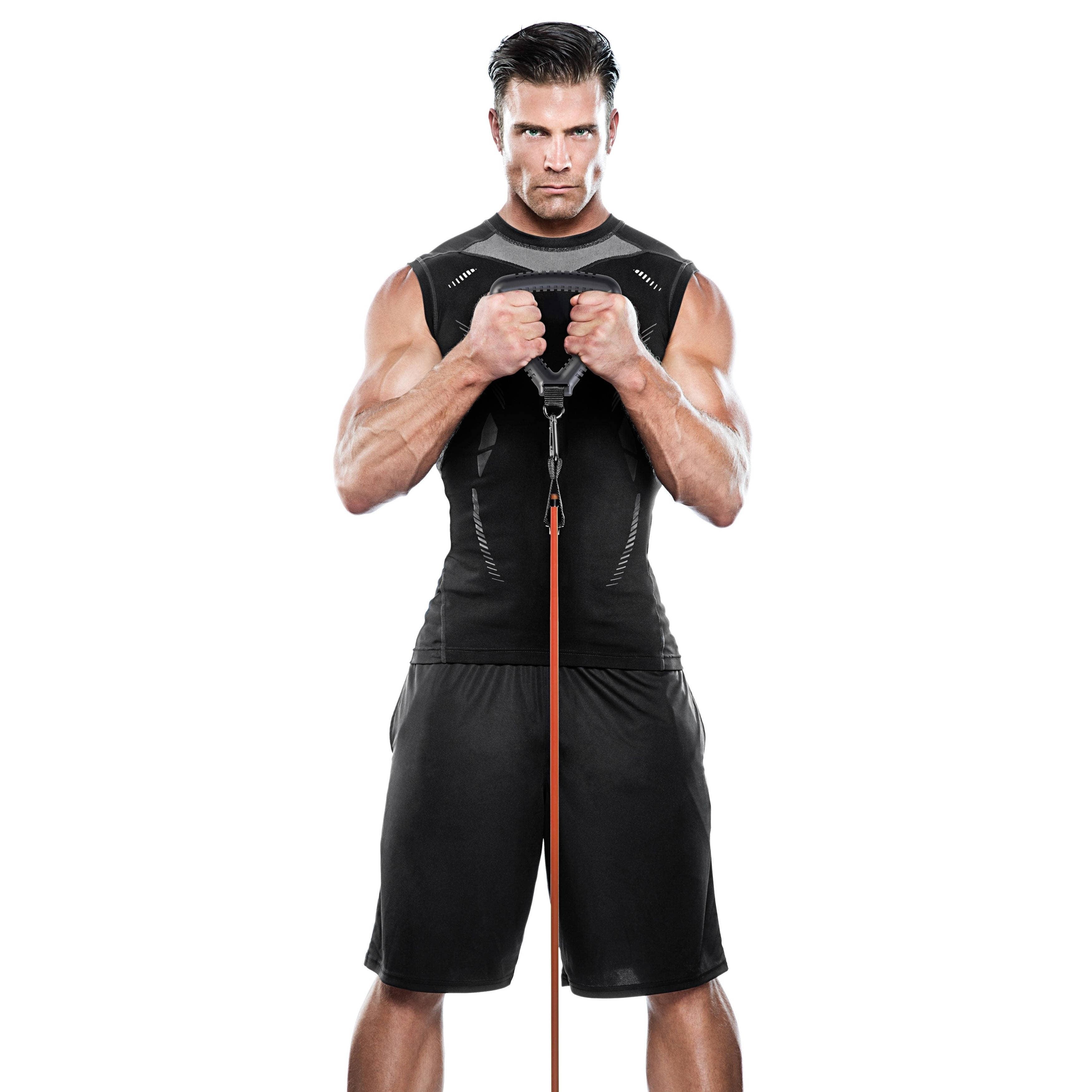 BBKT-090 Grip Handles Resistance Tubes /& More Ankle Strap Bionic Body Kit