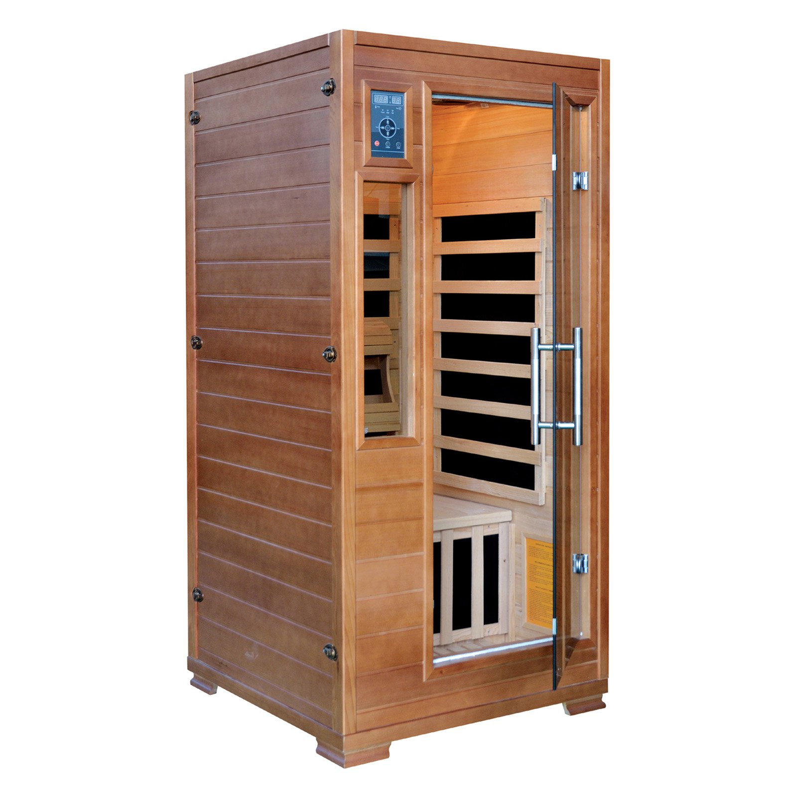 Splashnet Xpress Majestic Sauna 2 Person Hemlock Infrared Sauna