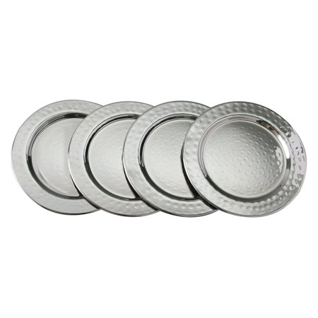 Leeber Hammered Coasters - Set of 4