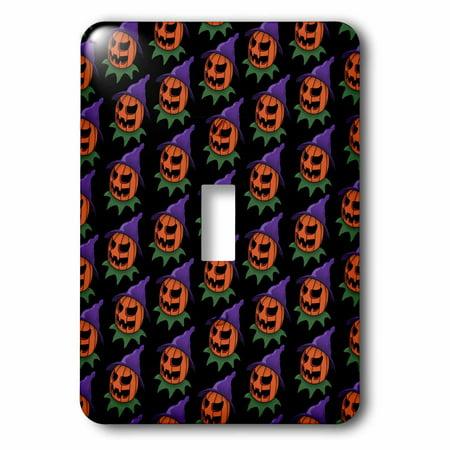 3dRose PATTERN halloween jack o lantern 2 - Single Toggle Switch (lsp_55011_1)](Halloween Jack O Lanterns Pattern)
