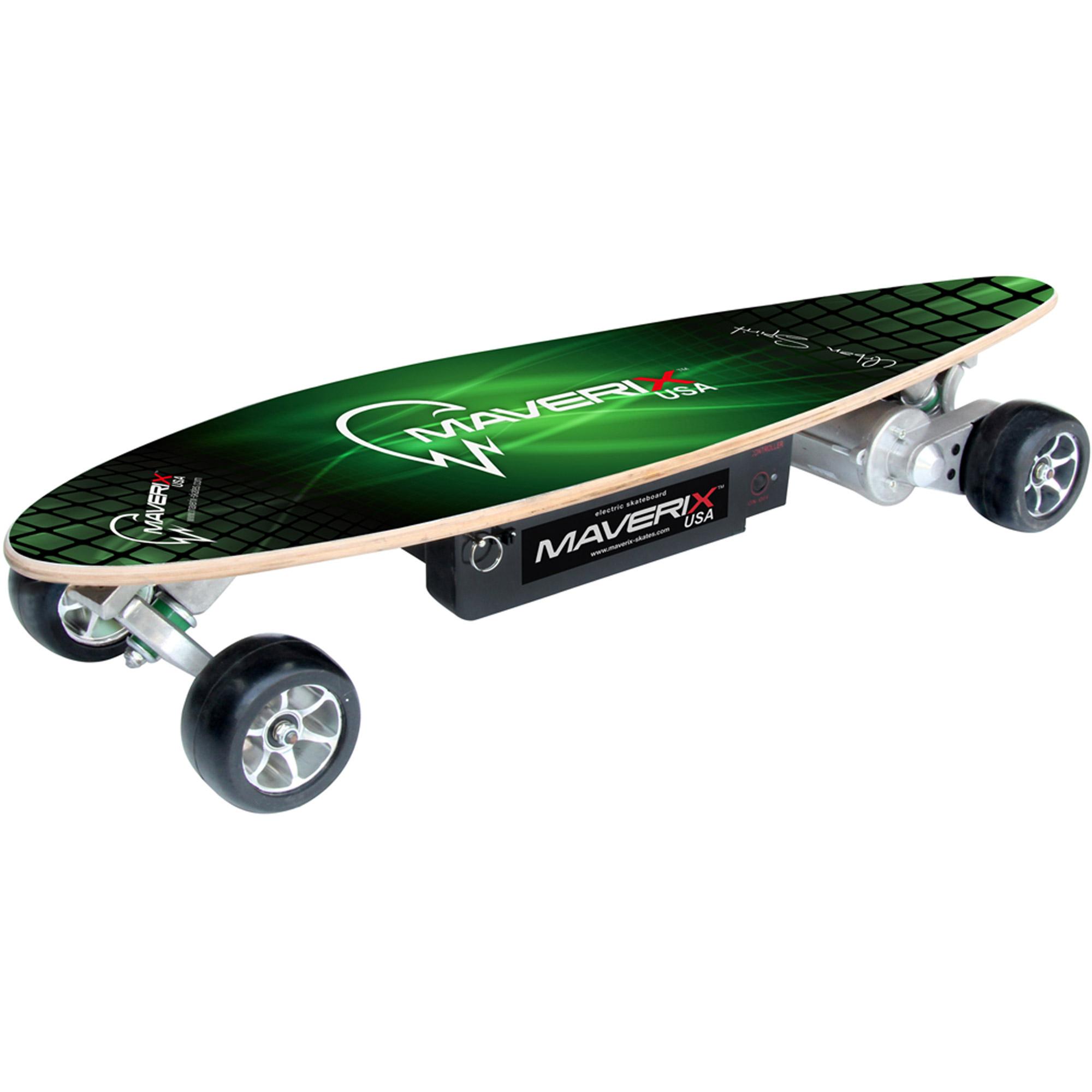 Maverix  California Electric Skateboard  Yellow Price Tracking