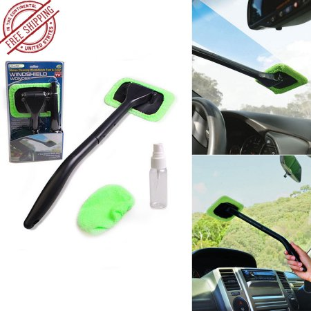Car Windshield dust cleaner brush Microfiber Auto Wiper Glass Cleaner Window