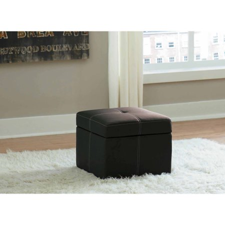 Delaney Small Square Storage Ottoman Multiple Colors