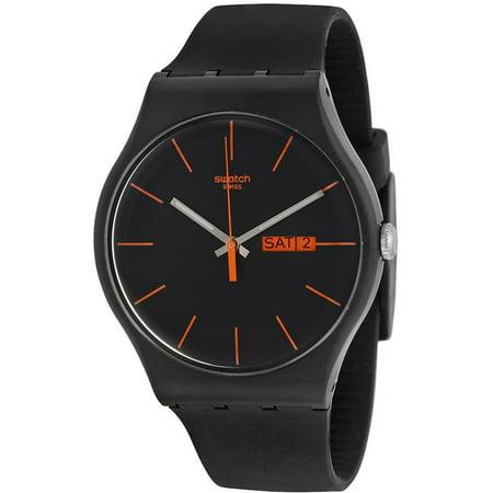 - Swatch Dark Rebel Men's Watch, SUOB704