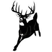 Western Recreation Vista Running Buck Decal 6X4