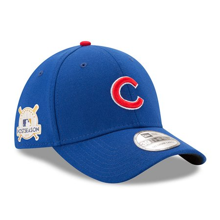 Chicago Cubs New Era 2017 Postseason Side Patch 39THIRTY Flex Hat - Royal - Halloween Chicago 2017 Bars