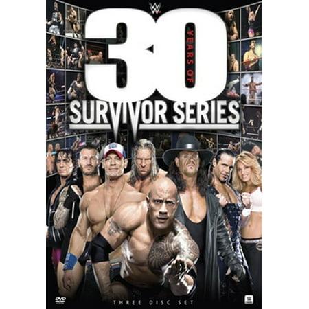 WWE: 30 Years of Survivor Series (DVD)