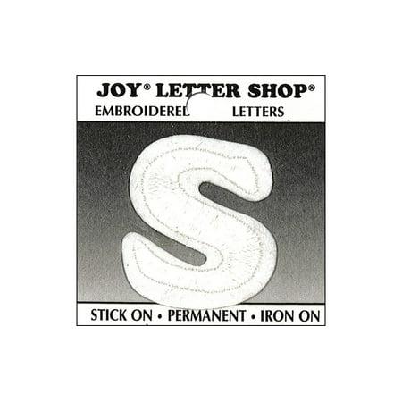 Joy Applique Letter Iron On Cooper 1.5