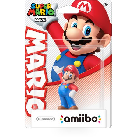 Image of Mario Super Mario Series Amiibo (Nintendo Wii U or 3DS)