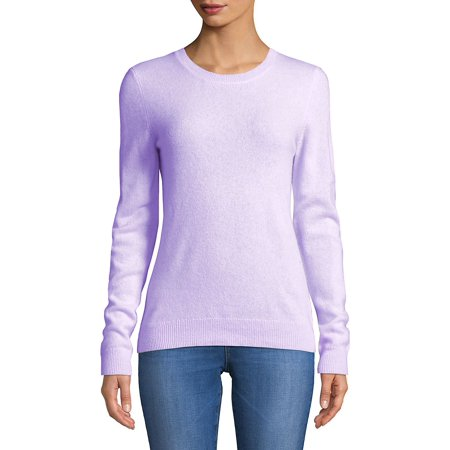 Essential Cashmere Crewneck Sweater - Lights Clothing