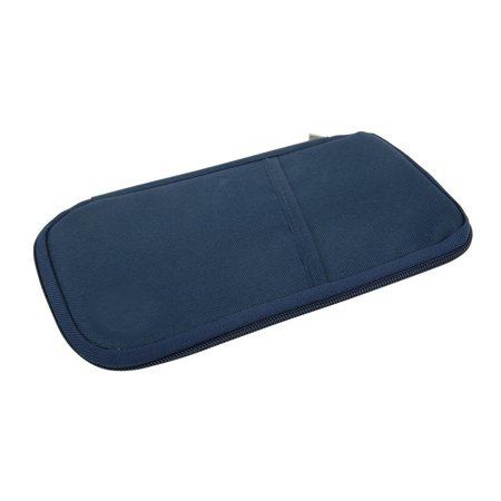 Travel RFID Document Organizer Holder Bag Purse For Ticket ,Passport, Credit Card ID