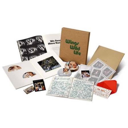 Wild Life (CD) (Includes DVD)