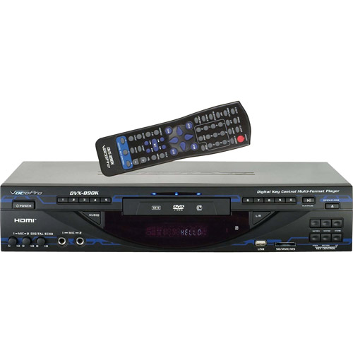 VocoPro CDG8900PRO Dual Tray CD Player with BPM Matching and Synchronization
