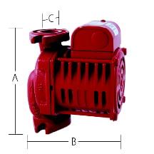 Armstrong Pumps 182212 653 Single Phase Circulating Pump