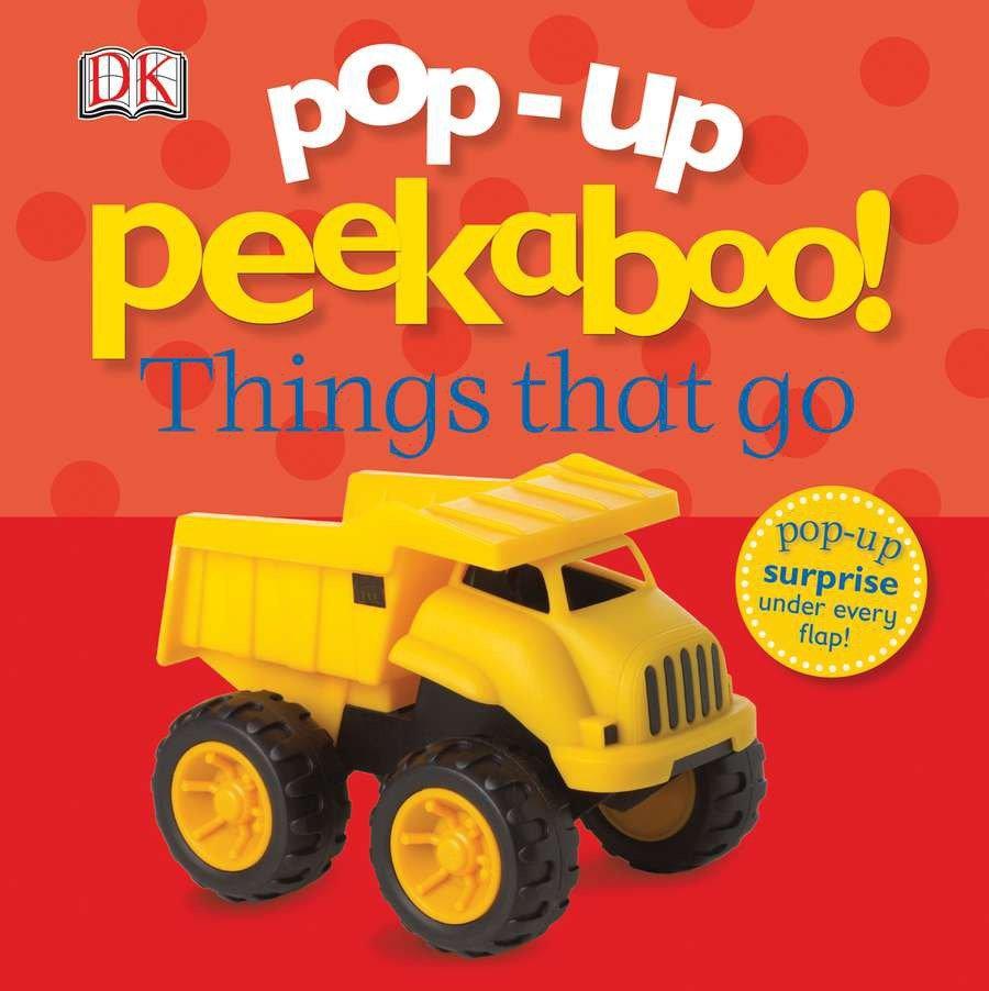 Pop-Up Peekaboo! Things That Go (Board Book)