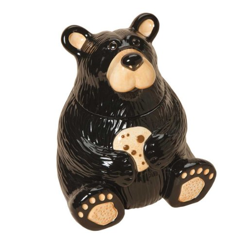 Big Sky Carvers Bear Cookie Jar by Big Sky Carvers