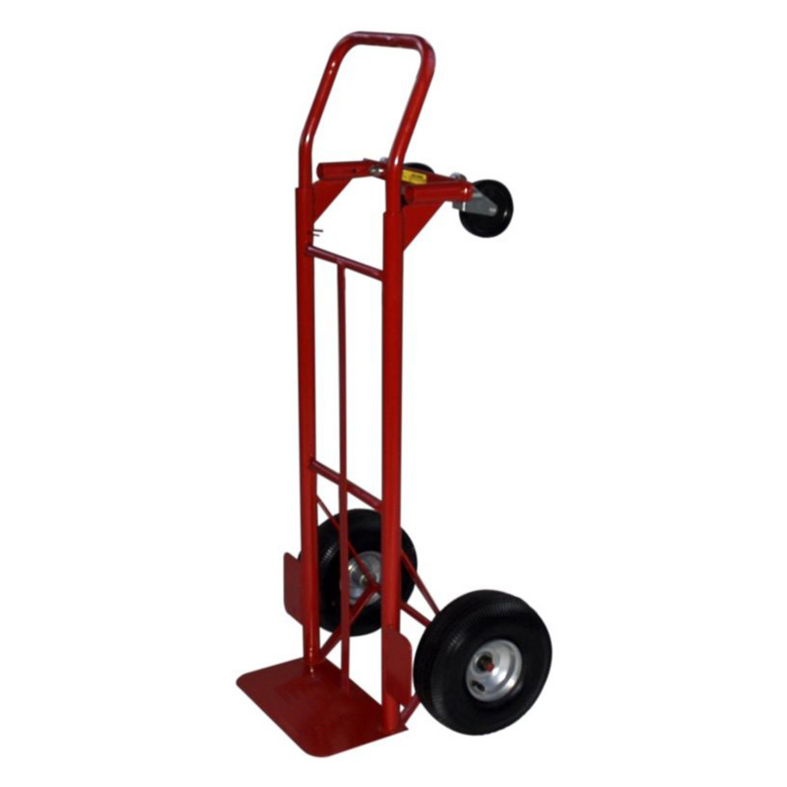 Milwaukee Convertible Hand Truck 10 in. Pneumatic Tires by Gleason Industrial Prod Inc