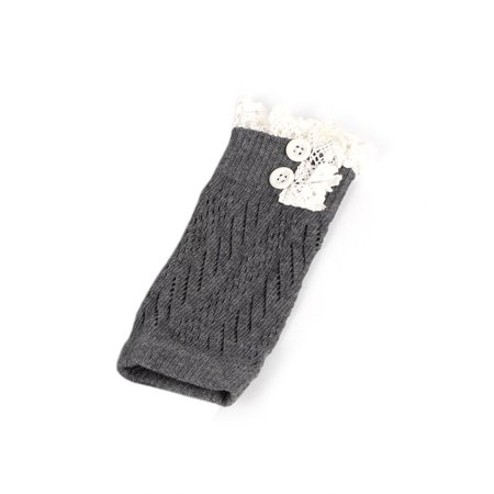 Comfortable Baby Girl Crochet Knitted Lace Boot Cuffs Toppers Leg Warmer Socks - image 5 of 5