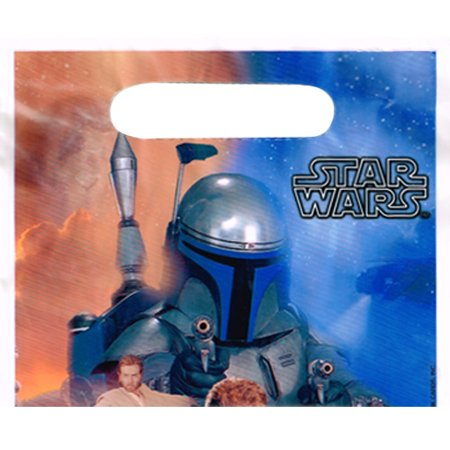 Star Wars Vintage 2002 'Episode II' Favor Bags (8ct) (Star Wars Favor Bags)