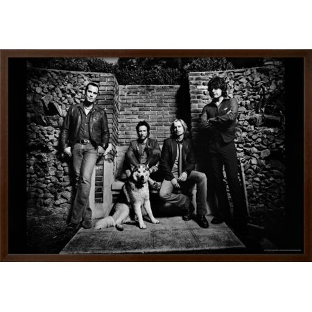 Acetate Temples Frame - Stone Temple Pilots Framed Poster Wall Art