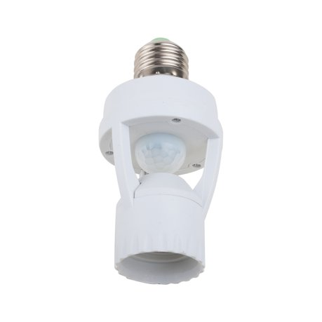Ac110v 240v Socket Infrared Motion Sensor Automatic E27