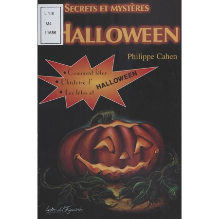 Secrets et mystères d'Halloween - eBook](Illustrations D'halloween)