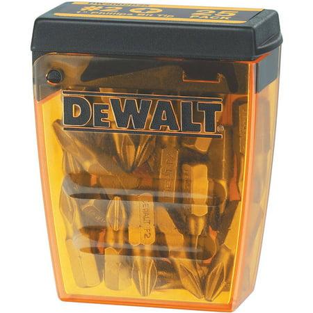Dewalt DW2002B25 1 in. #2 Phillips Bit Tips (25-Pack)