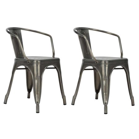 Dhp Elise Metal Dining Chair Set Of 2 Multiple Colors