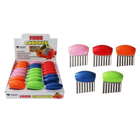 Diamond Visions 01-1360 Handheld Food Chopper Set in Assorted Colors (2 Choppers)