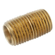 "Pipe Fitting, Red Brass Nipple, Lead Free, 1/2 X 2-1/2"", Anderson, 38300-0825"