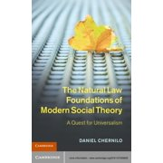 The Natural Law Foundations of Modern Social Theory - eBook