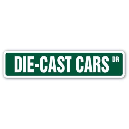 DIE-CAST CARS Street Sign vehicles matchbox trucks collector toys | Indoor/Outdoor |  24