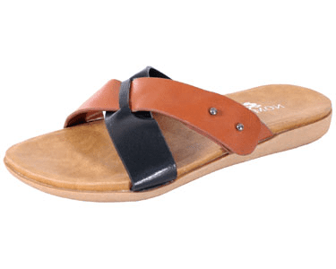 Nomad Milos Sandal Black Tan by Nomad